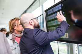 Sample City Lab 2016 Innsbruck - Andreas Mimm p&p Multitouch